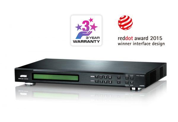 VM5404H-4x4 HDMI Matrix Switch tích hợp bộ ghép màn hình Videowall 2